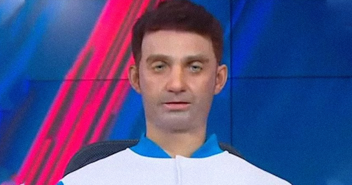 Russia Built a Grotesque Robot Newscaster and Put It on TV