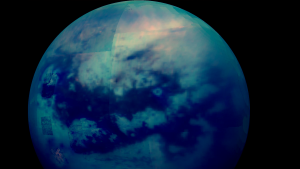 By analyzing data from Cassini spacecraft's last flyby in 2017, scientists found that Saturn's largest moon Titan has an entire lake district.