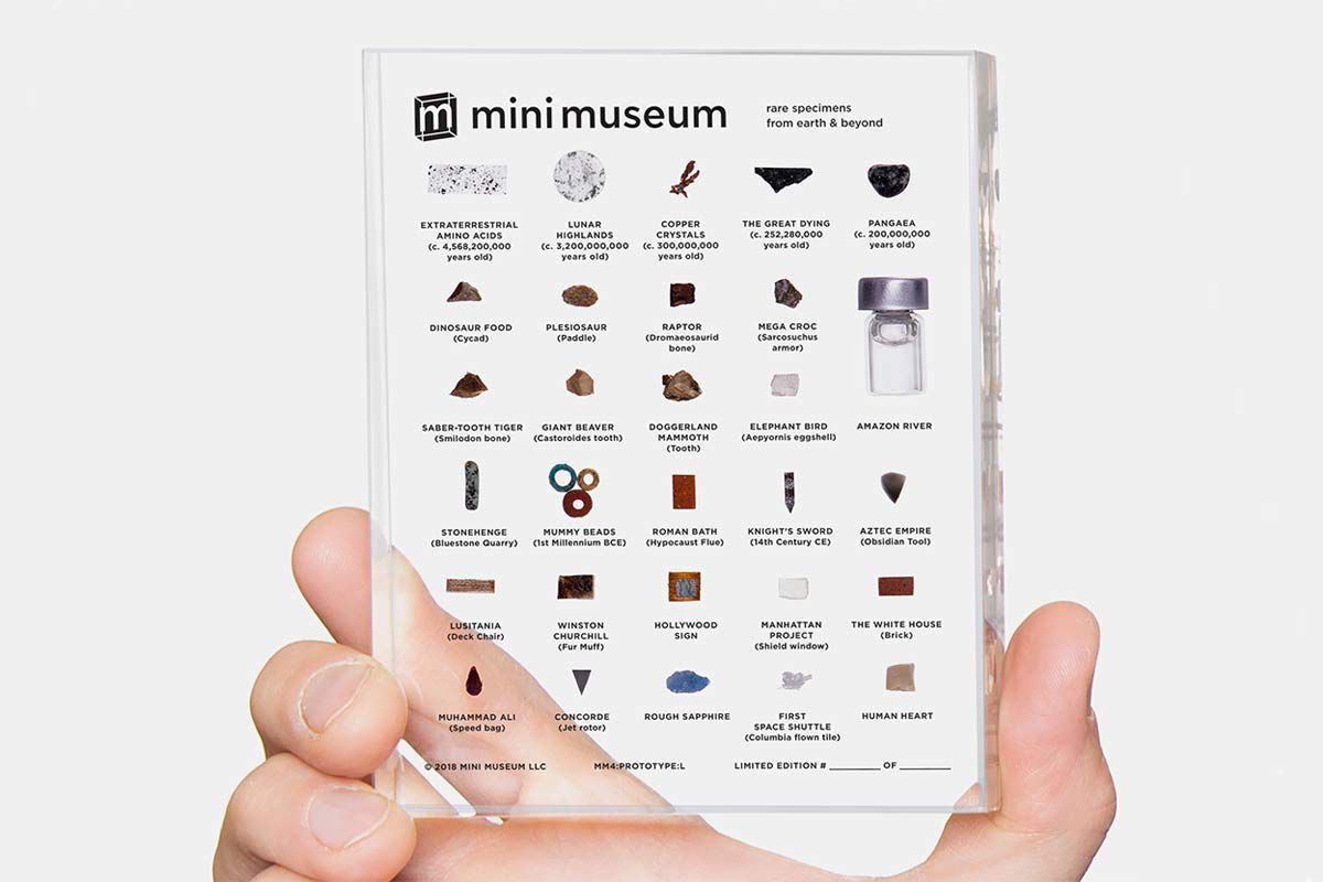 Mini Museum-Fourth-Edition-rare-scientific-historial-specimens