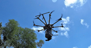 The Florida Keys are about to use drones to find and kill mosquitos breeding in remote pools of standing water instead of sending expensive helicopters.