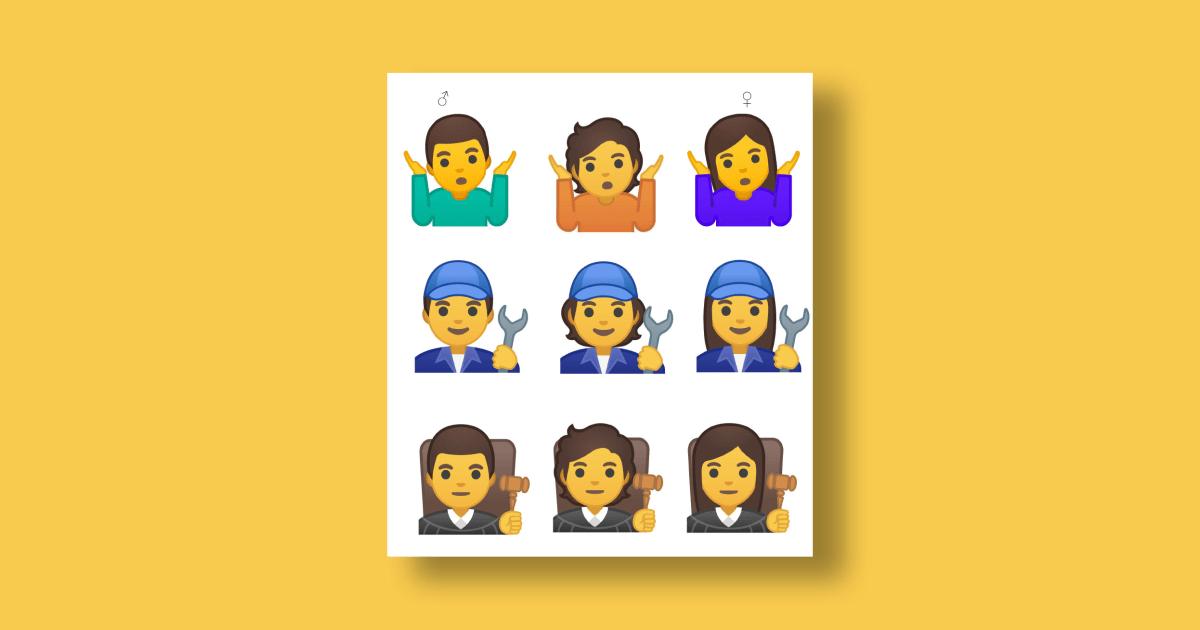 Google Is Adding 53 Gender-Fluid Emoji to Its Smartphones