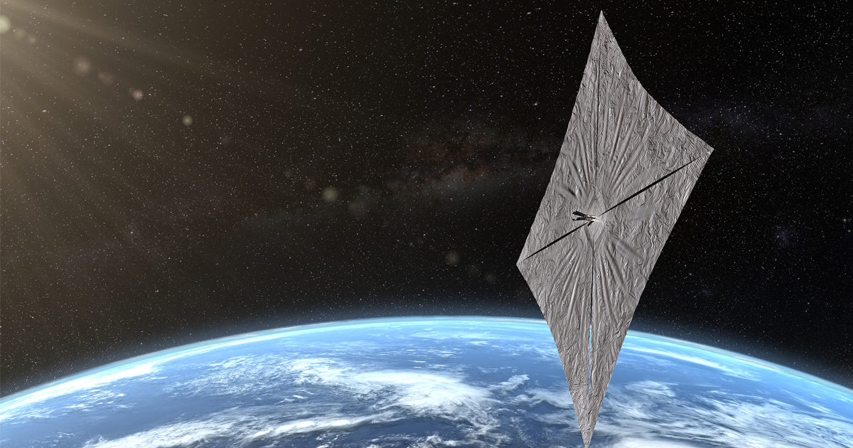 SpaceX is About to Launch a Solar Sail Inspired by Carl Sagan