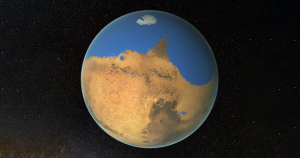 A team of researchers discovered the unusual way in which water cycles on Mars. It's a clue as to why Mars turned into a dry and desolate place.