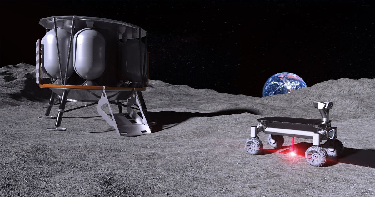 Laser Project Aims to Melt Moon Dust Into a Lunar Base
