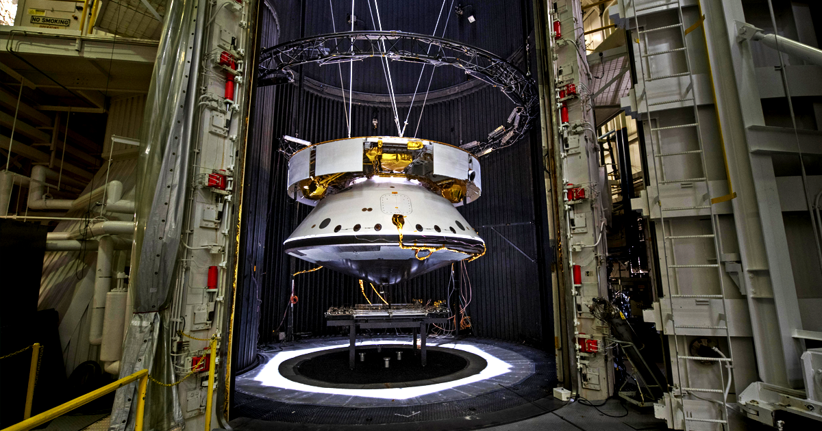 Here's How NASA Prepares Its Spacecraft for Mars