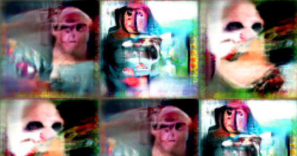 A Neural Net Hooked Up to a Monkey Brain Spat Out Bizarre Images