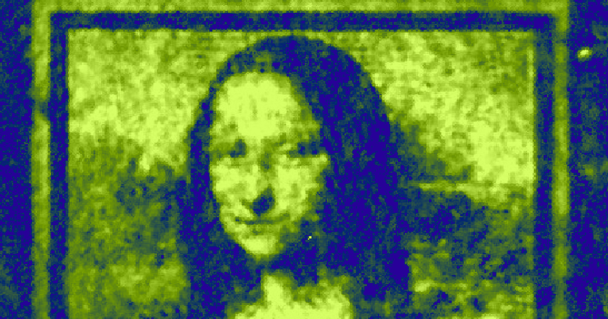 """Physicists Create Quantum-Scale """"Mona Lisa,"""" Just for Funsies"""