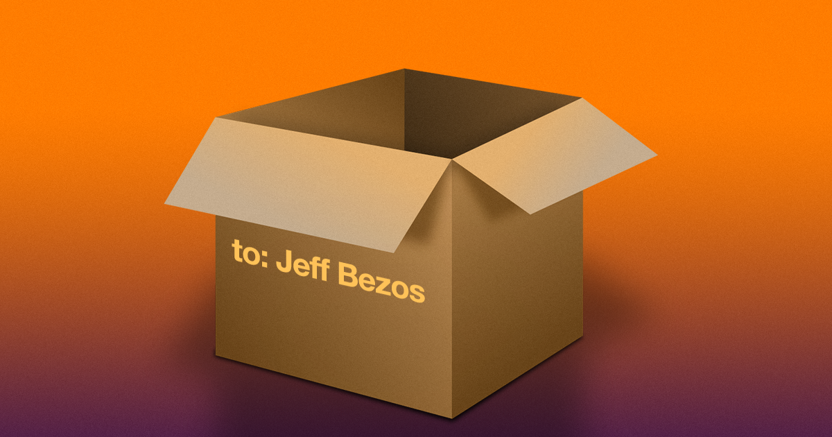 Someone Tried to Return an Amazon Package Directly to Jeff Bezos