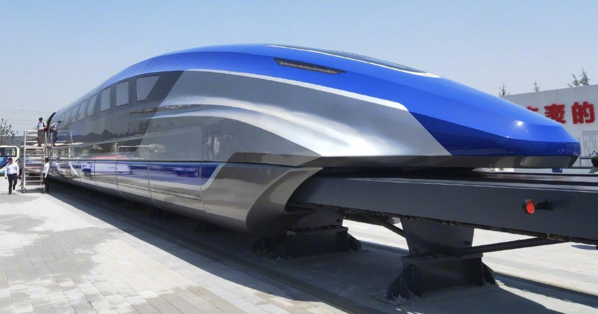 How Do Maglev Trains Work >> See China S Newly Unveiled Maglev Train