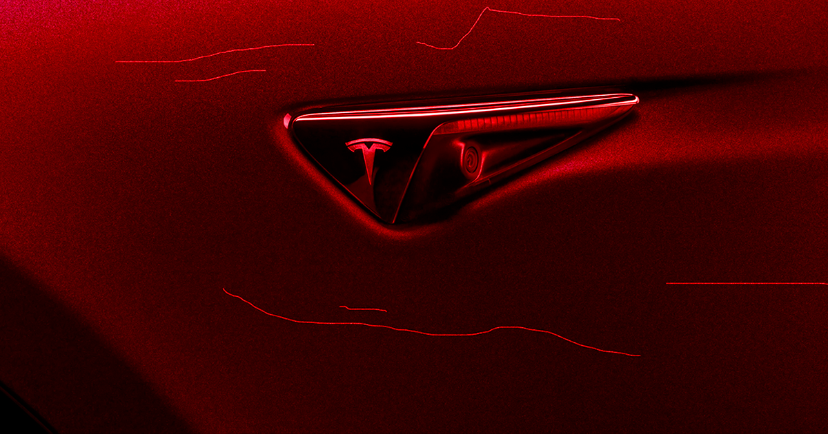 Sentry Mode just busted two cackling Tesla vandals