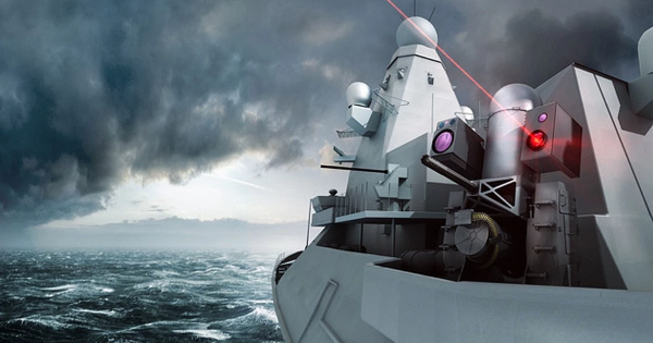"""The UK's New """"Dragonfire"""" Laser Weapon Is Weirdly Steampunk"""