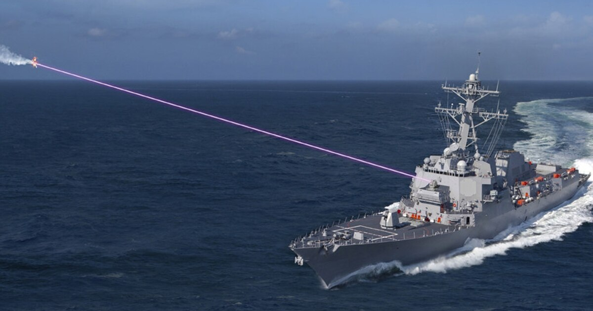 The US Military Is Officially Rolling out Its HELIOS Laser Weapon