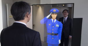 A multi-company effort has resulted in the creation of an AI-powered virtual security guard that looks like it stepped straight out of a Japanese anime.