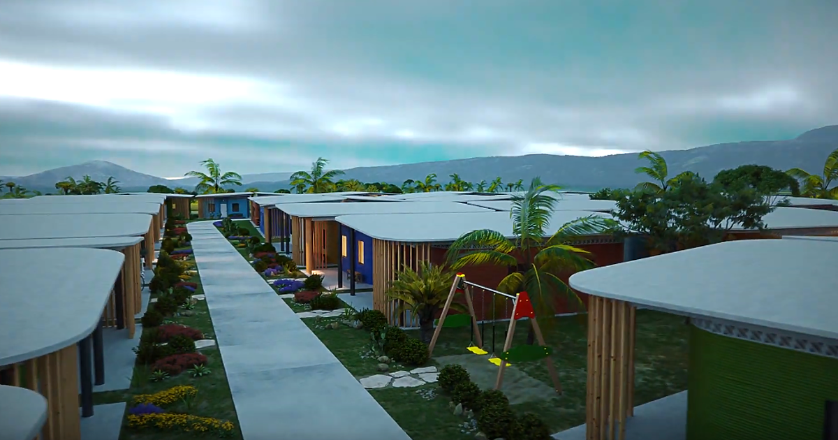 Watch a 3D-Printed Neighborhood Spring up From Nothing
