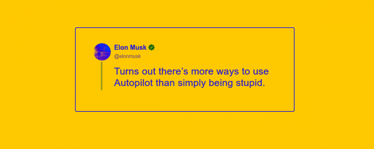 We Asked an AI to Finish Real Elon Musk Tweets