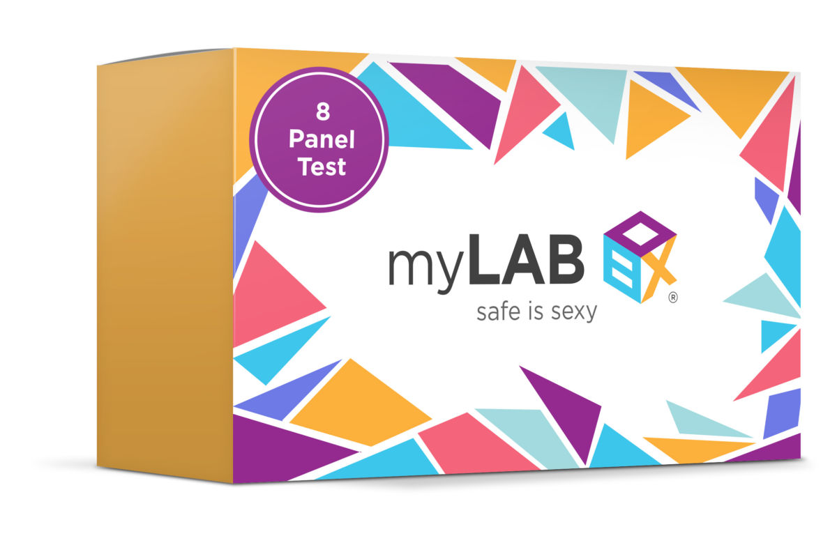 This home STD test from myLab is safe and discreet.