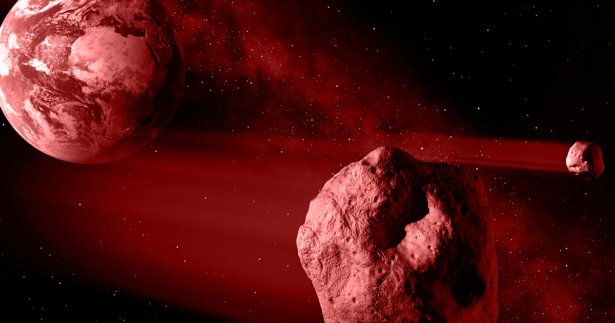 NASA: This Asteroid Will Get So Close It Could Smash Into Earth's Satellites