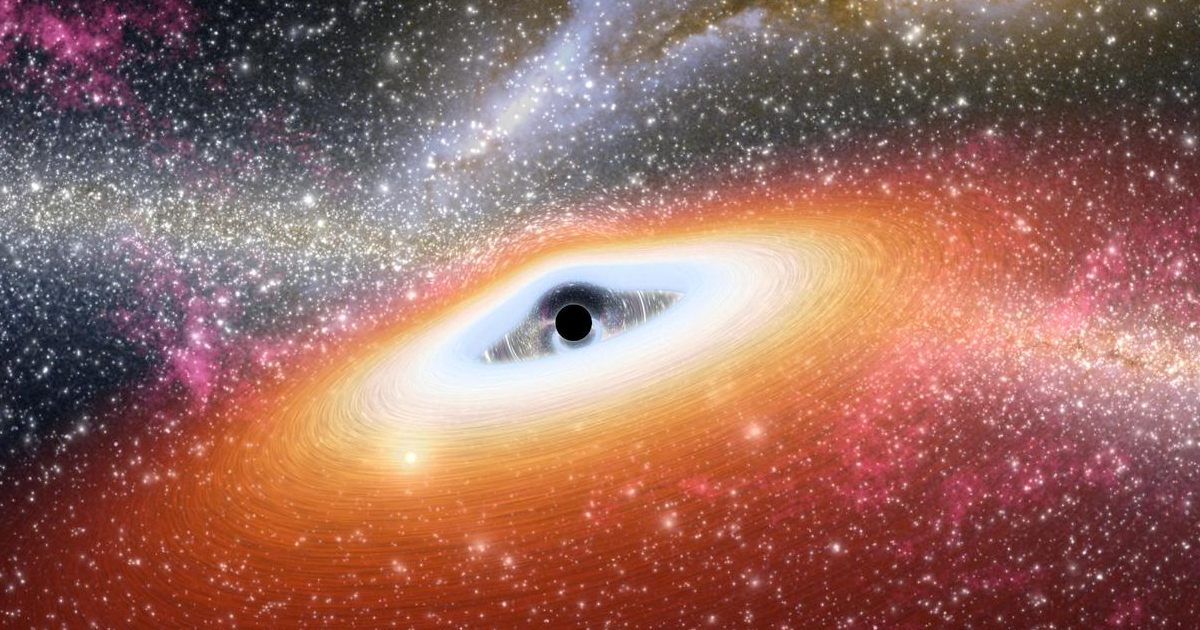 Something Is Blocking the View of Our Galaxy's Giant Black Hole