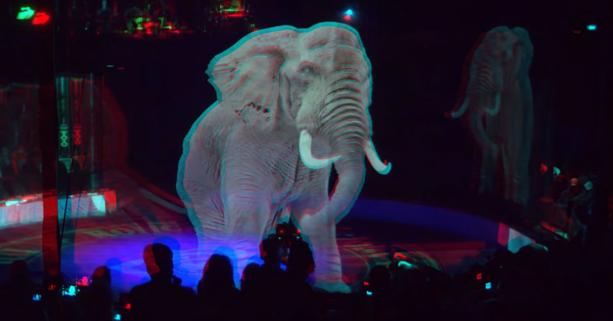 A German Circus Is Using Amazing Holograms Instead of Animals
