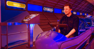 Elon Musk took to Twitter to compare an Earth-to-Earth trip aboard SpaceX's powerful Starship rocket to a ride on Disney's Space Mountain roller coaster.
