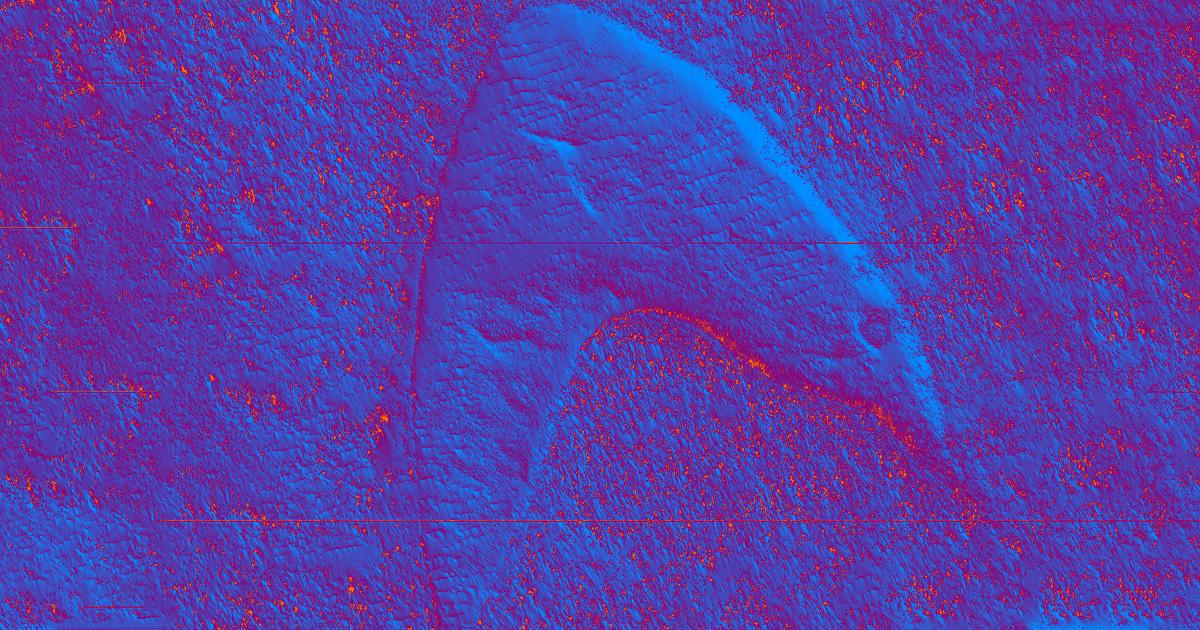 """NASA Orbiter Spots """"Star Trek"""" Starfleet Insignia on Mars"""