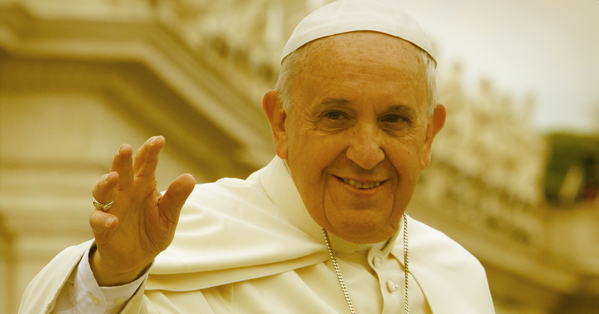 """Pope to Oil Execs: """"Energy Use Must Not Destroy Civilization"""""""
