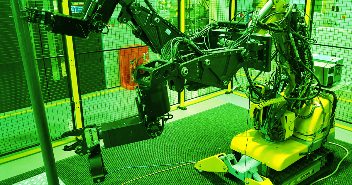 New Robots Can Safely Decommission Nuclear Reactors