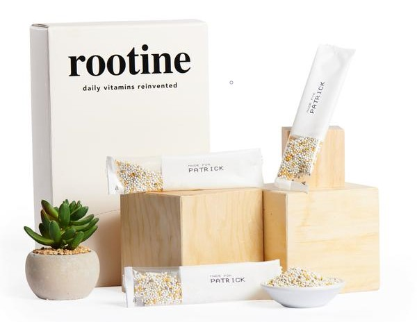 Rootine uses a DNA test to personalize your vitamins.
