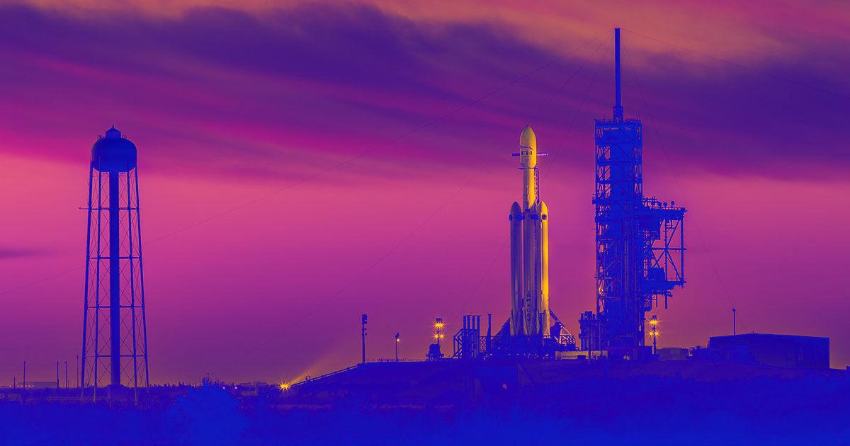 SpaceX Aces Falcon Heavy Launch, Despite Booster Explosion