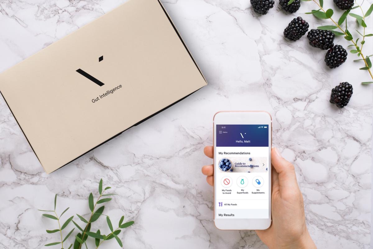 Vimoe app for gut health intelligence.