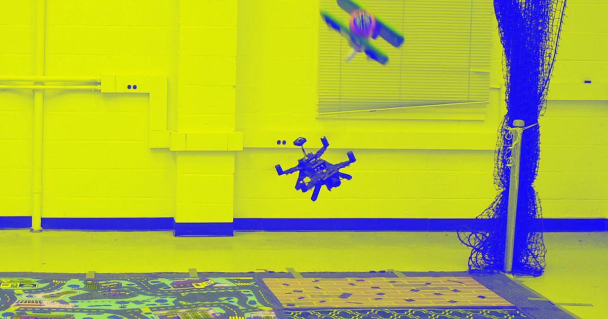 Watch This Drone Expertly Dodge Stuff Thrown at It