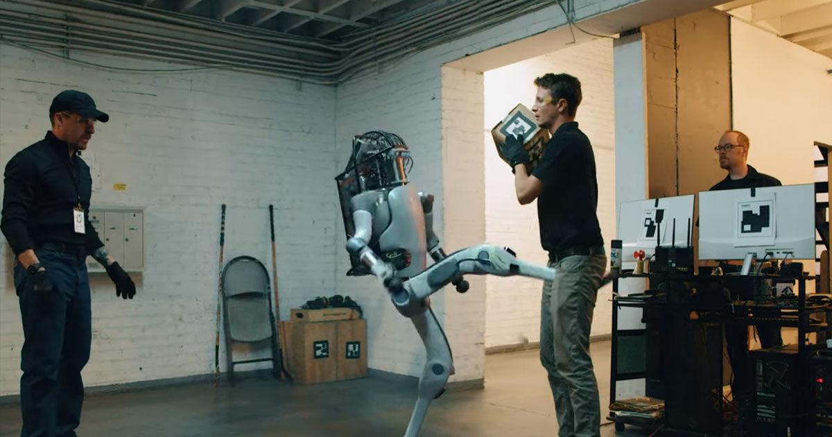 Watch a robot take revenge in brutal Boston Dynamics parody