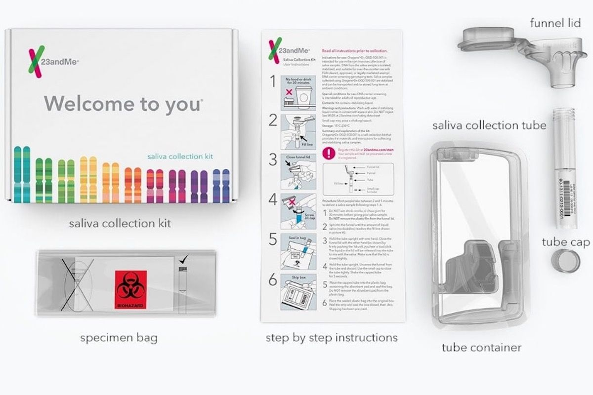 This 23andMe DNA test gives you a look at possible health issues.