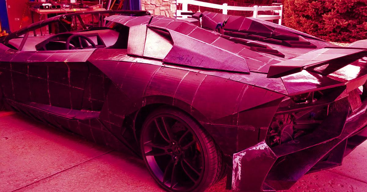 A 3D Printed Lamborghini May Become Reality | Futurism