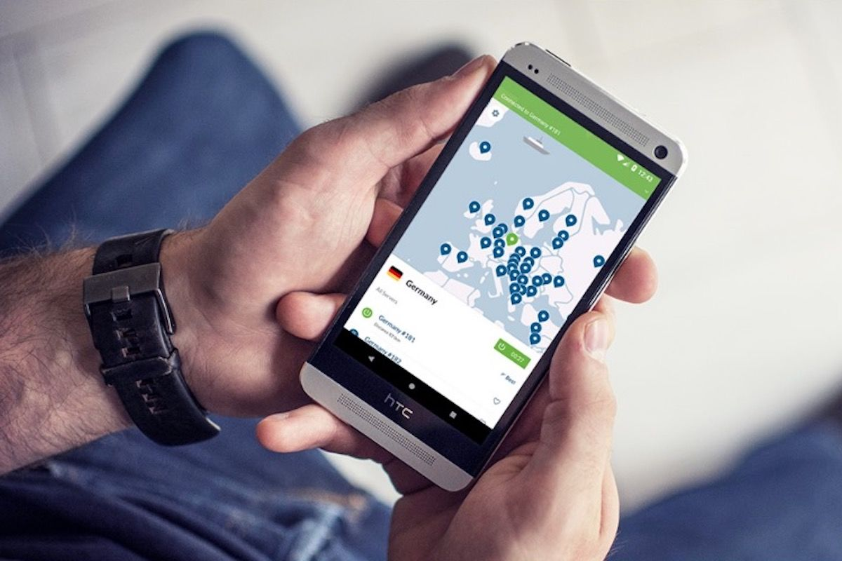 It only takes 60 seconds to sign up for NordVPN.