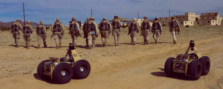 "DARPA's ""Squad X"" Teams Up Soldiers With Scout Robots"