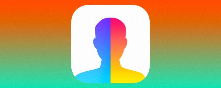 تطبيق فيس آب FaceApp