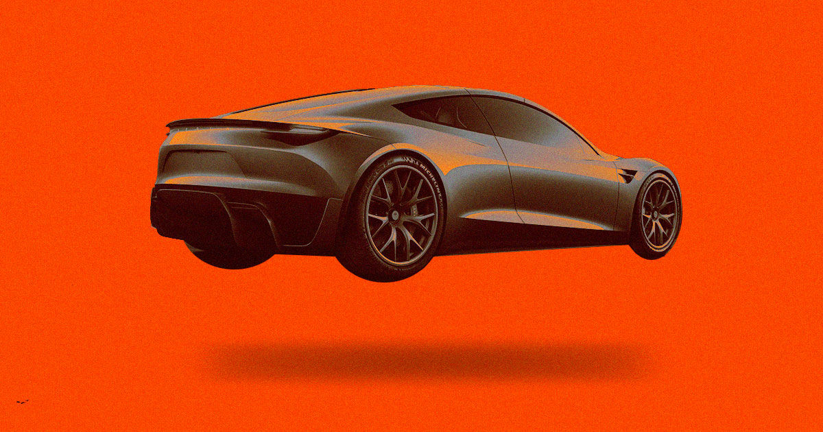 "Tesla May Test ""Hovering"" Roadster in Late 2020"