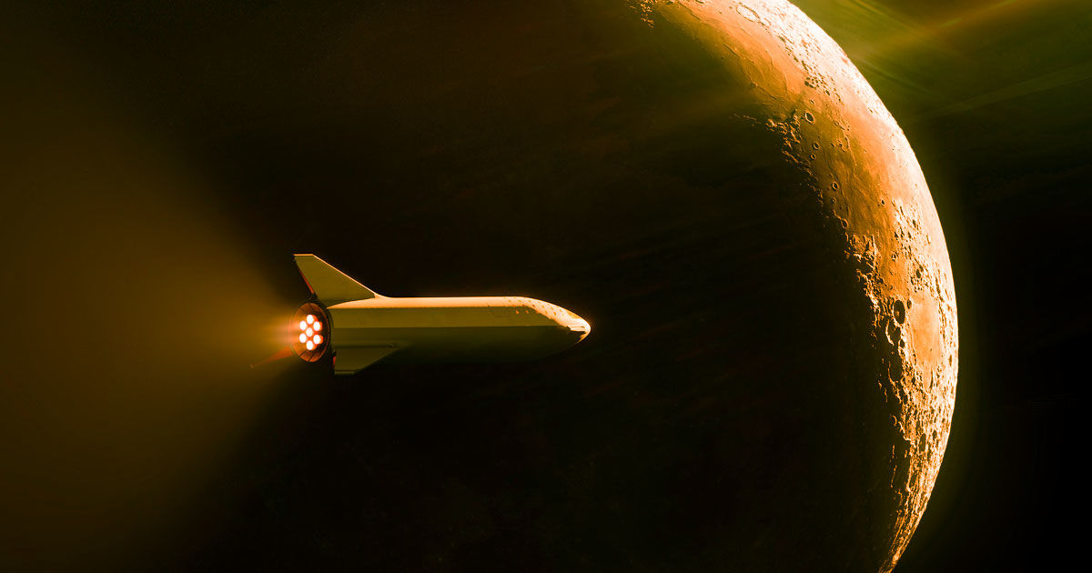 """Elon Musk: We could land on the Moon in """"less than two years"""""""