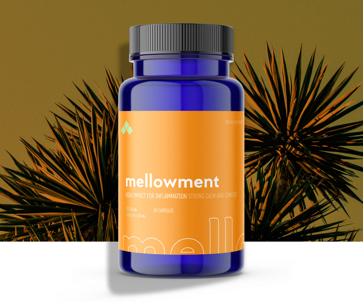 Mellowment High Impact CBD for inflammation.