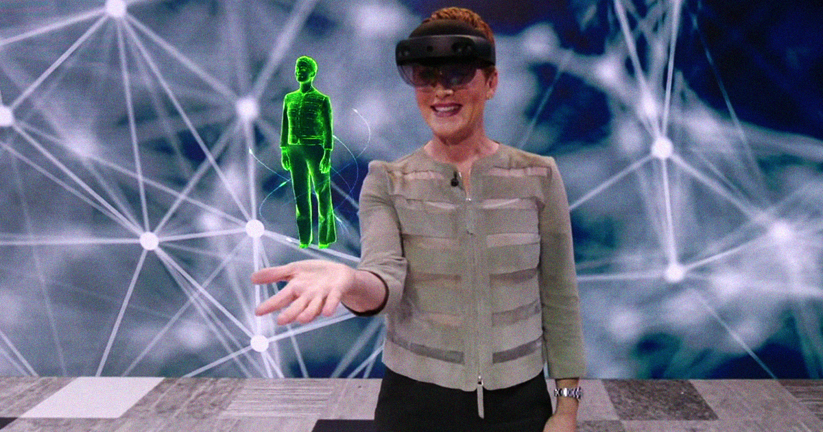 Microsoft's Tech Can Make Your Hologram Speak Another Language