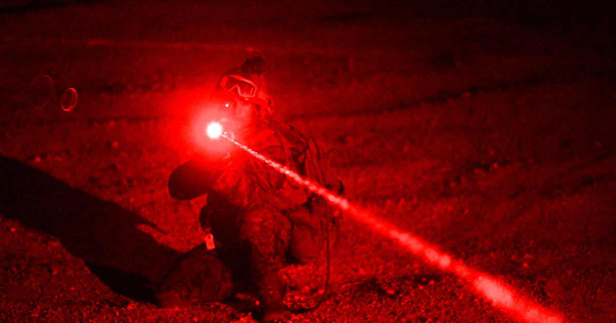 Pentagon: New Laser Tech Can Make People Hear Voice Commands