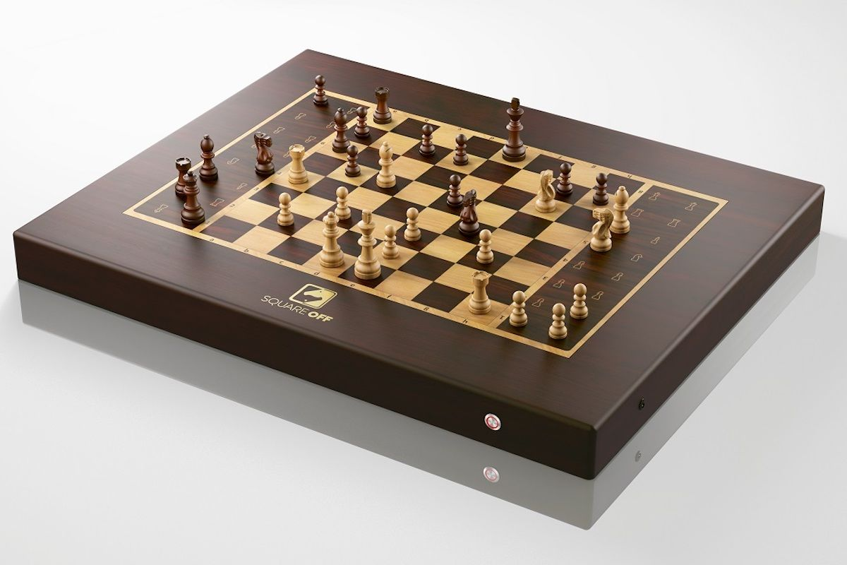The Square Off Chess Set Lets Players Control Physical