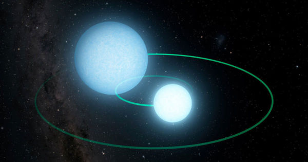 Two Dead Stars Are Orbiting Each Other's Corpses Incredibly Fast