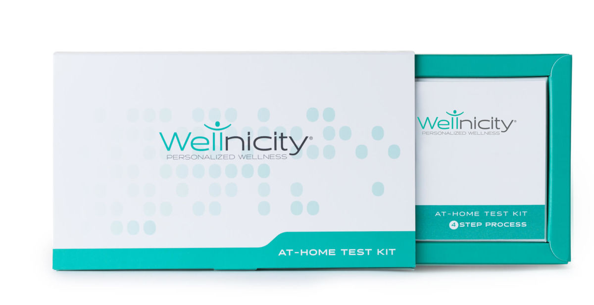 Wellnicity test kit.