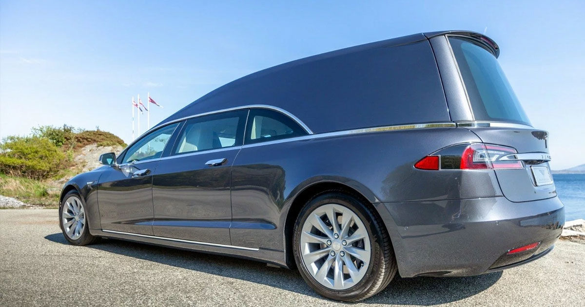 Hearse For Sale >> You Can Now Buy a Tesla Hearse for $200,000