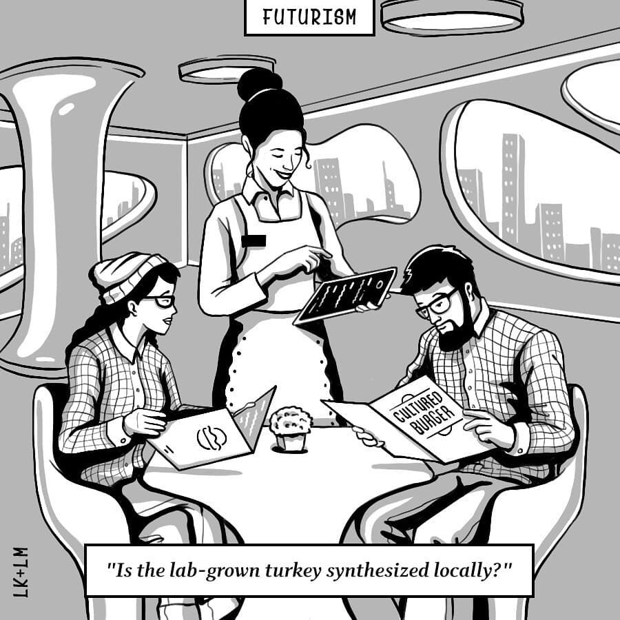 Futurism S New Cartoons From Tomorrow Book Is A Wry And Often