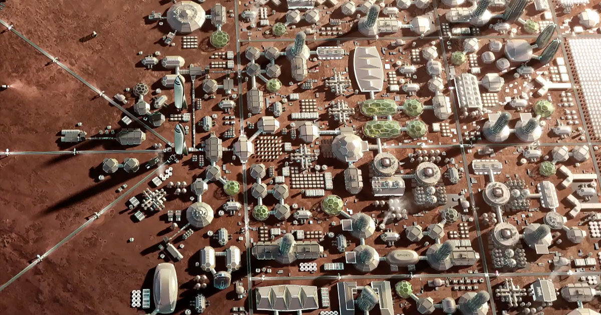 Elon Musk: Mars city could cost up to $10 trillion