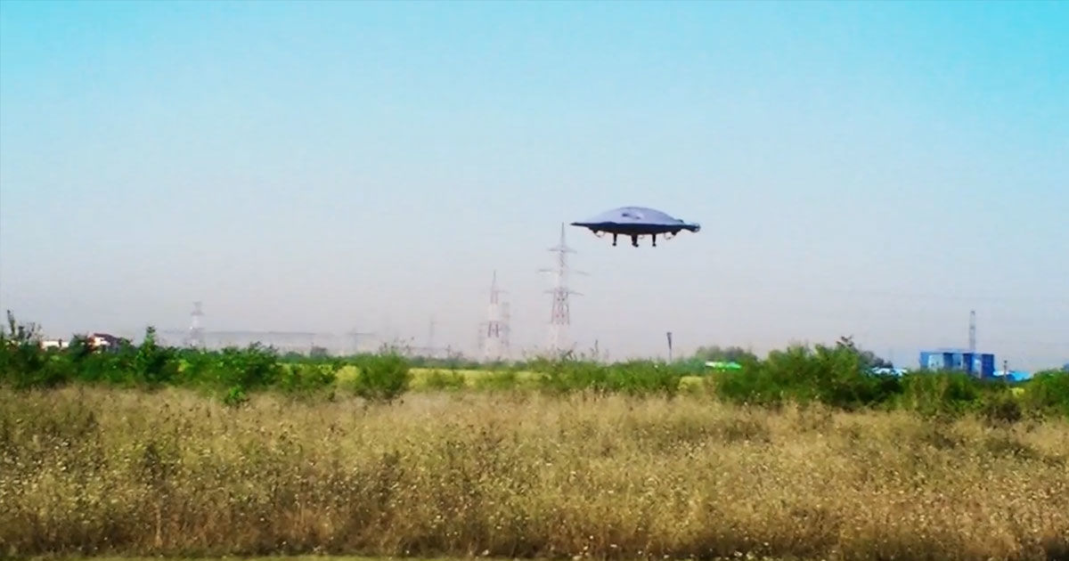 These Guys Built a Flying Saucer That Actually Flies Pretty Well