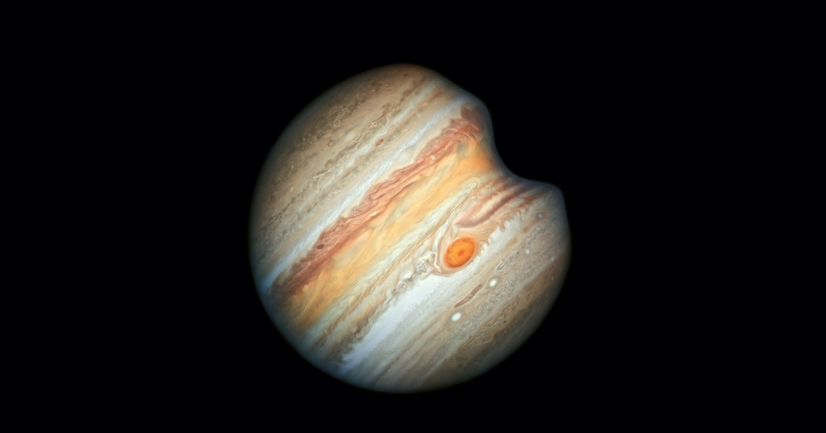 Something Enormous Just Smashed Into Jupiter